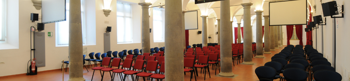 La sala De' Vecchi 3: laterale dal fondo