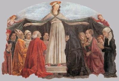 La Madonna della Misericordia è un affresco di Domenico Ghirlandaio dipinto nella cappella Vespucci, che si trova lungo la parete destra della navata della chiesa di Ognissanti a Firenze.