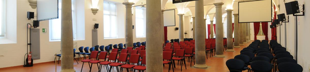 La sala De' Vecchi 4: laterale di cima