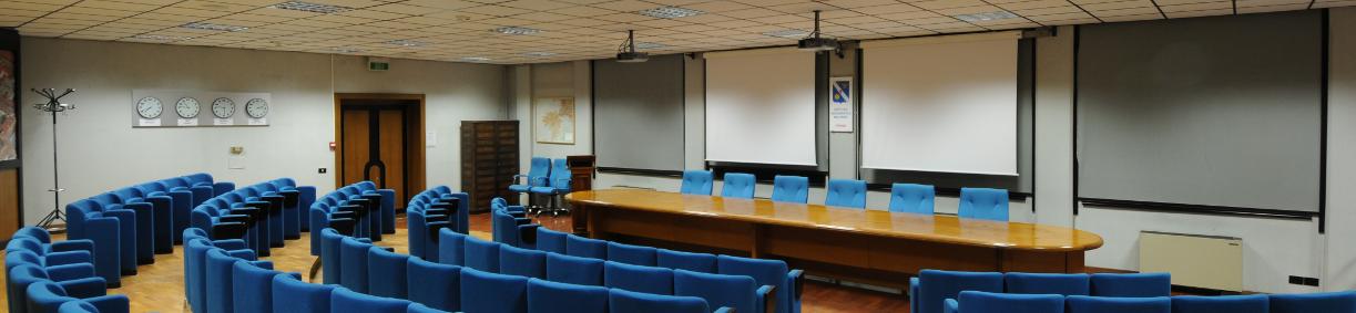 La sala conferenze Schmiedt
