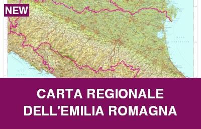 Carta regionale dell'EMILIA ROMAGNA