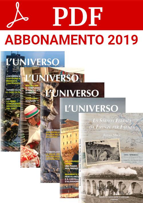 Abbonamento 2019 edizione digitale