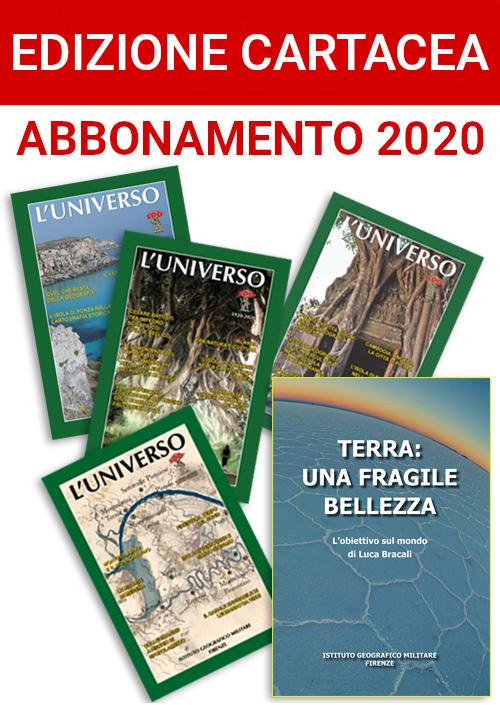 Abbonamento 2020 edizione cartacea (ITALIA)